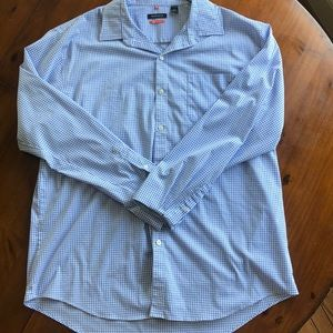 Van Heusen Traveler Men's L/S Button Up XL 17-17.5